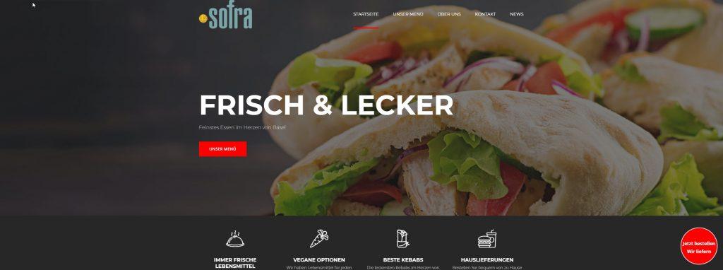 La Sofra - Home page