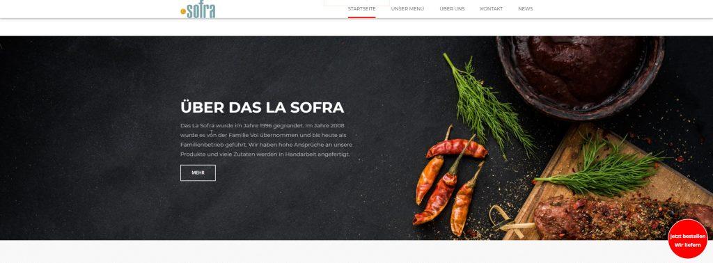 La Sofra - Home page 2